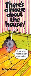 books for preschoolers: there's a mouse in the house