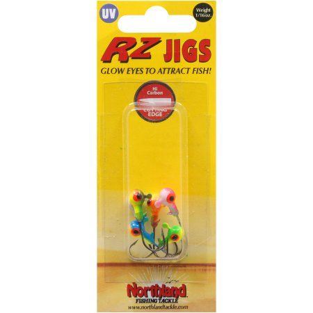 Northland Tackle RZ Jig, 1/16 oz, Assorted