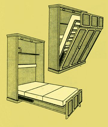 Wall Mount Bed | photos of Vertical Mount Murphy Bed Hardware