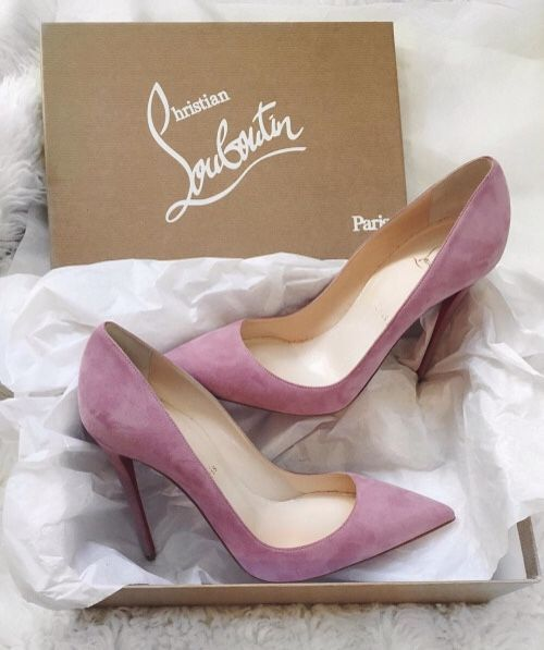 Pink Louboutin Heels #trendy
