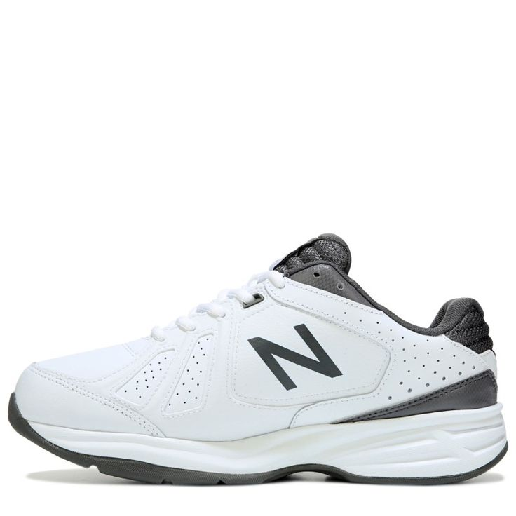 New Balance Men's 409 X-Wide Walking Shoes (White/Grey) - 11.0