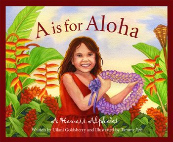A is for Aloha.  A Hawaii themed alphabet book. #kids #book