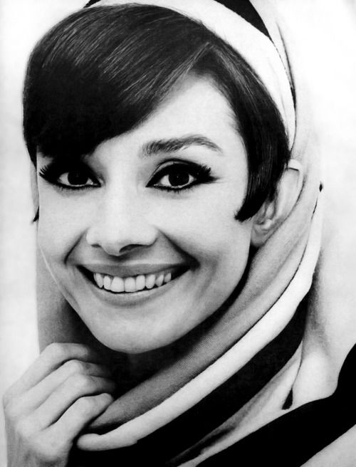 Audrey Hepburn photographed by William Klein for Vogue, January 1966.