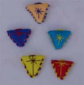 Amulet - Pendant Triangular