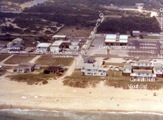 The Carolinian 1950s Nags Head N C Nags Head Outer Banks Nc Obx
