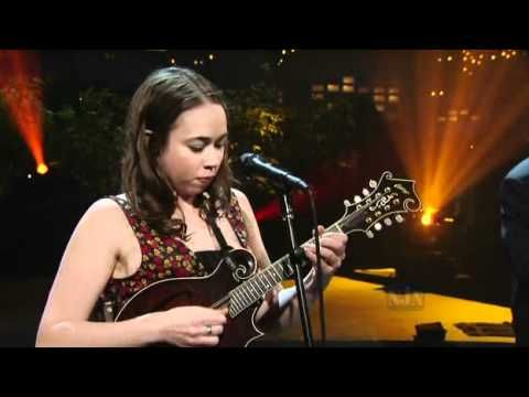 Sarah Jarosz - Come on up to the house.  More evidence that these three young musicians should all have a wonderful future in music...