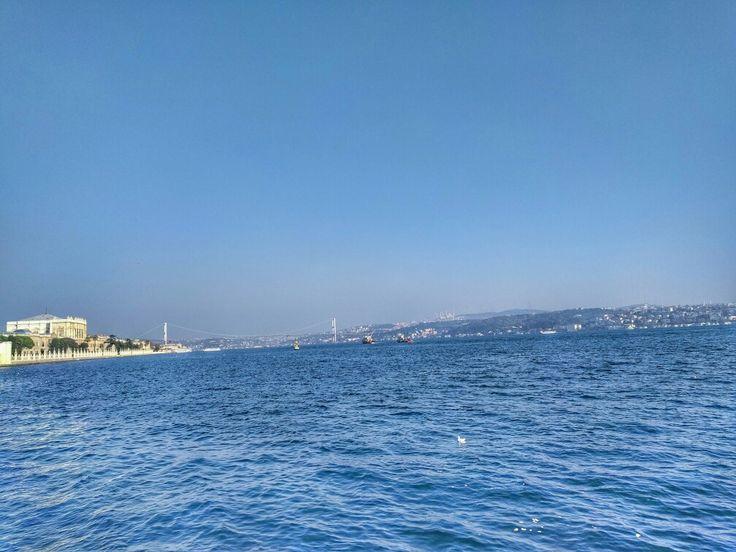 Dolmabahçe İstanbul boğazı Türkiye