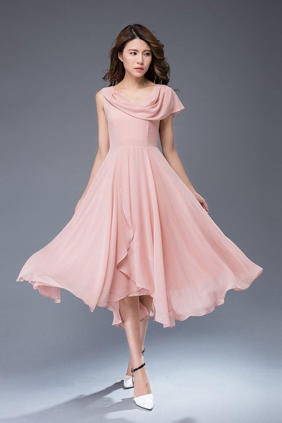 1000  ideas about Pink Chiffon Dress on Pinterest - Ball dresses ...