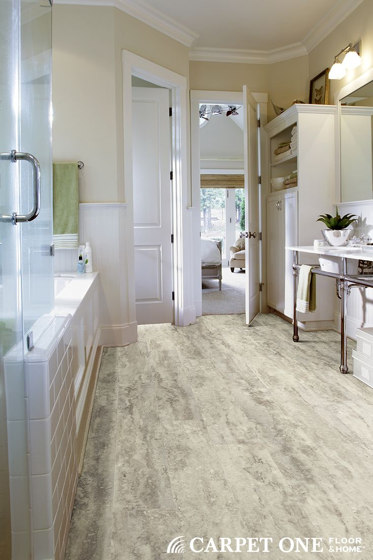 51 best vinyl plank and tile images on pinterest vinyl planks contemporary bathroom by dalton carpet flooring shaw floors with a coconut coloured floor and theme a calming and homely bathroom with a touch of baanklon Choice Image