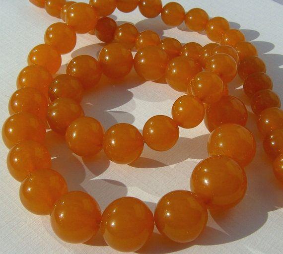Baltic Amber Necklace Butterscotch Amber Jewelry by TremoughGlass, $450.00