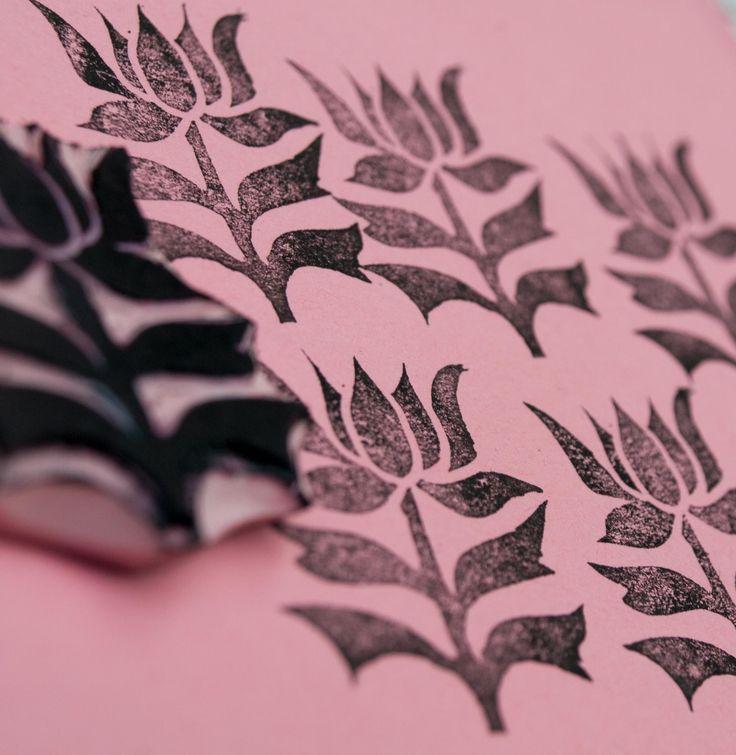 Flower Leaf Stamp