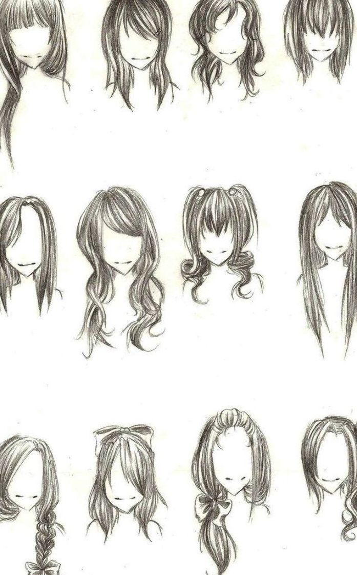 Drawing Anime Hairstyles 100 Ideas To Try About Manga Anime Drawing Tutorials In 2020 How To Draw Hair Hair Sketch Nerdy Hairstyles