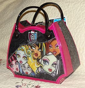 monster high accessories | Monster High Doll Make Up Kit Set Bag Accessories Cosmetic Case Scary ...