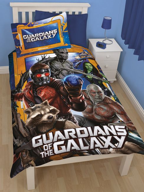 Guardians Of The Galaxy Misfits Duvet Cover And Pillowcase