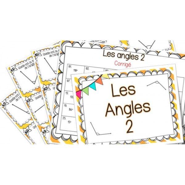 Les angles 2 cartes t ches 5th grade cinqui me - Arrondir les angles ...