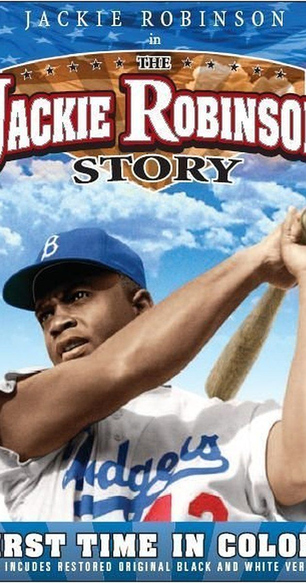 Directed by Alfred E. Green.  With Jackie Robinson, Ruby Dee, Minor Watson, Louise Beavers. Biography of Jackie Robinson, the first black major league baseball player in the 20th century. Traces his career in the negro leagues and the major leagues.