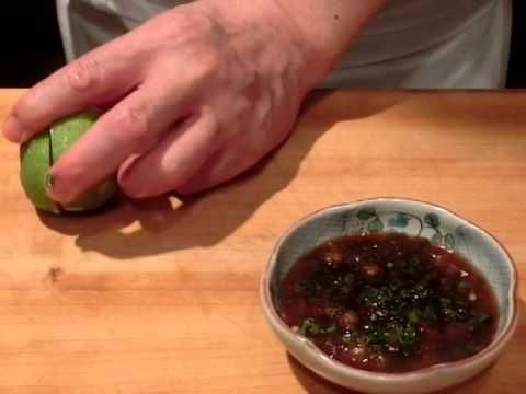 松茸と鱧の しゃぶ・・・・大和の 和の料理(鱧しゃぶ)