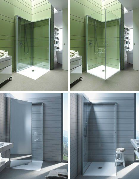 Small Es Flat Folding Shower