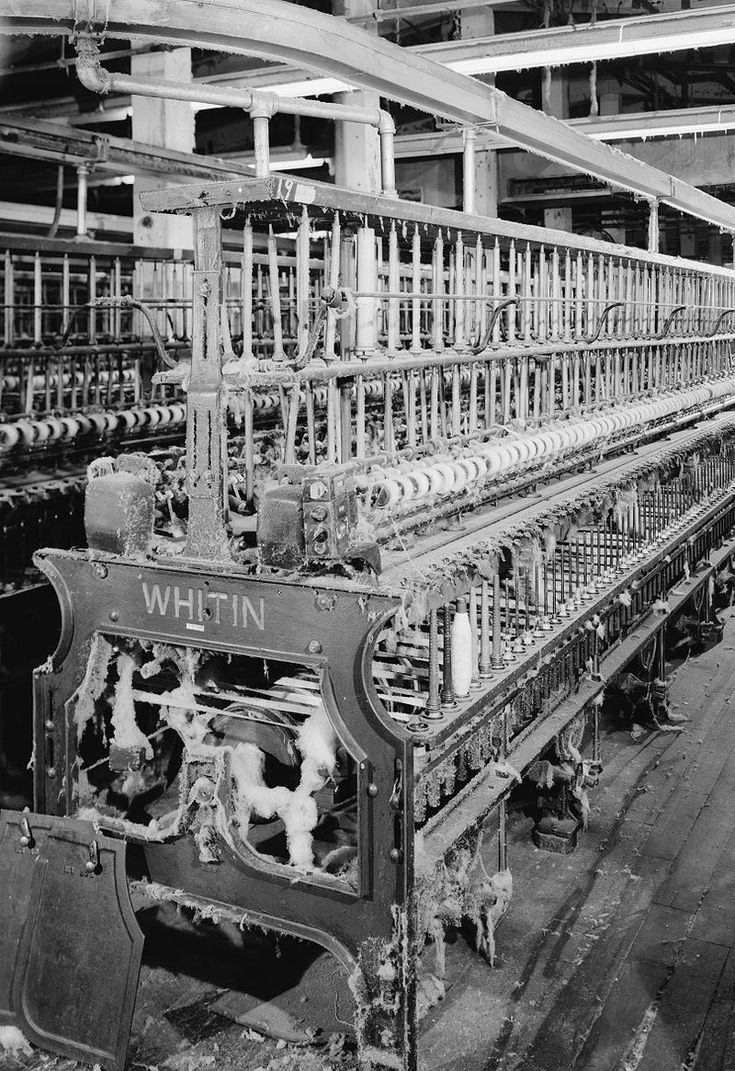 Whitin Frame - Spinning frame - Wikipedia, the free encyclopedia