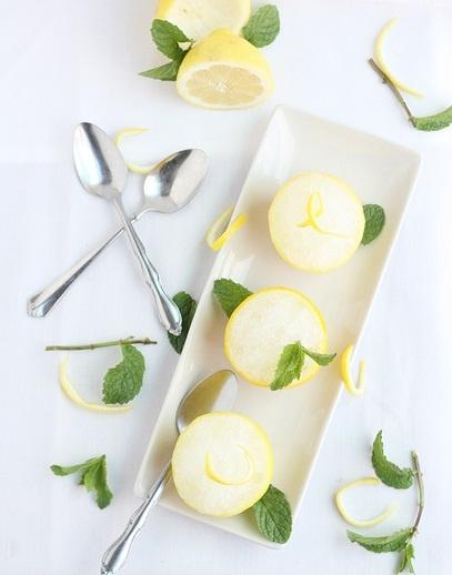 Nevado de limón y menta | Cocina y Comparte | Recetas de Oscar de Laurentiis