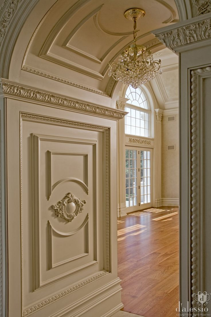 Best 25 french chateau homes ideas on pinterest french for Decorative archway mouldings