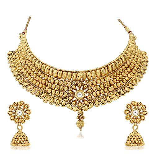 Attractive Indian Bollywood Bridal Wedding Wear Gold Plat... https://www.amazon.com/dp/B06Y62WG2T/ref=cm_sw_r_pi_dp_x_u4j7ybH7Y0X27
