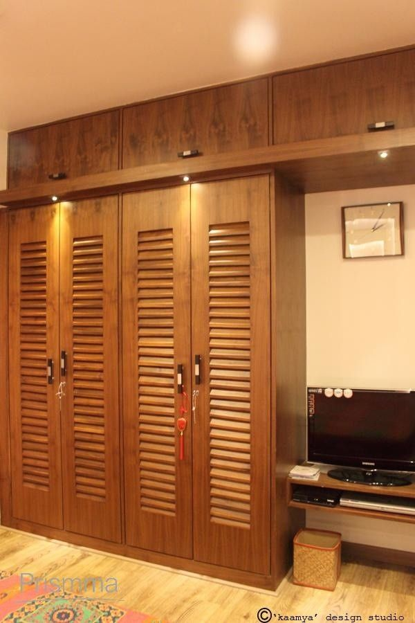 Wardrobe Design - wood finishes | Wardrobe design bedroom ...
