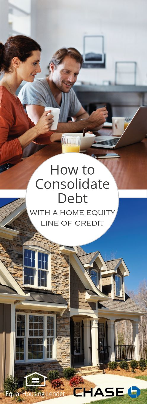 A major perk of using a Home Equity Line of Credit to consolidate your debt is that you're likely to reduce the amount of interest you're paying. Home equity interest rates can be lower than credit card or other loan rates. Find out if it's the right option for you.