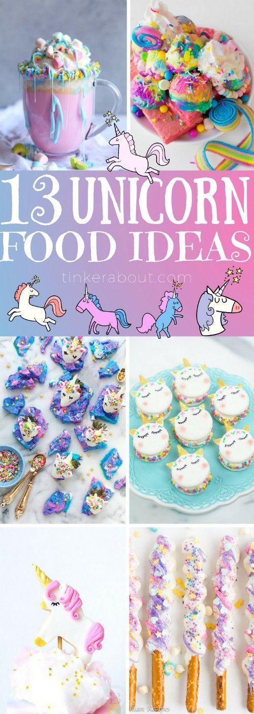 13 Gorgeous Unicorn Food Ideas For A Unicorn Birthday Party