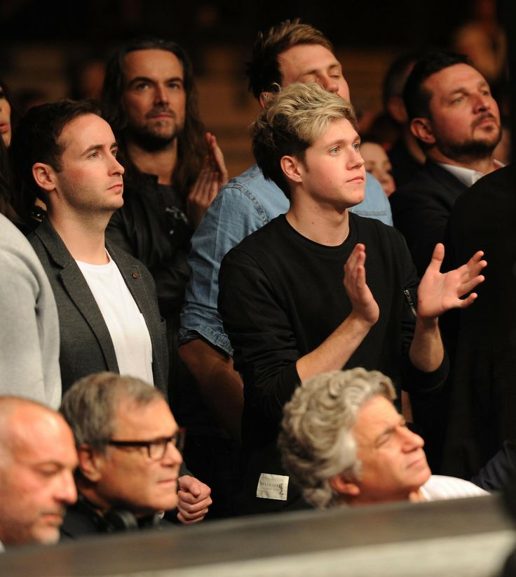 Niall Horan at UFC Fight Night London: Gustafsson vs Manuwa held at The O2 March 8th, 2014