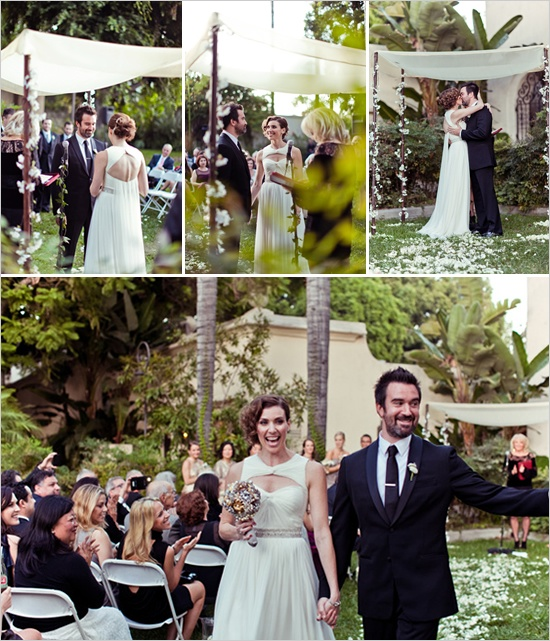 Outdoor Wedding Ceremony Eau Claire: Metallic Wedding Ideas