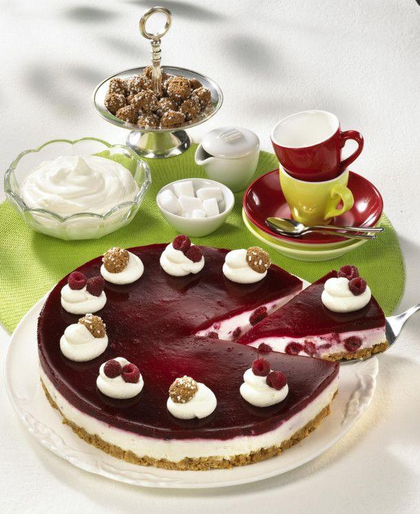 Unser beliebtes Rezept für Amaretti-Himbeer-Torte und mehr als 55.000 weitere kostenlose Rezepte auf LECKER.de.