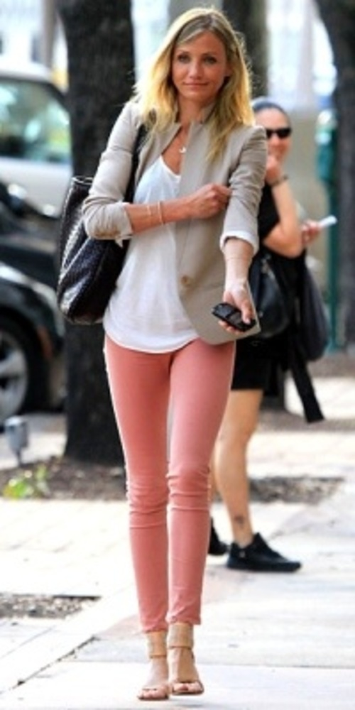 46 best images about Coral/Orange jeans outfit ideas on Pinterest ...
