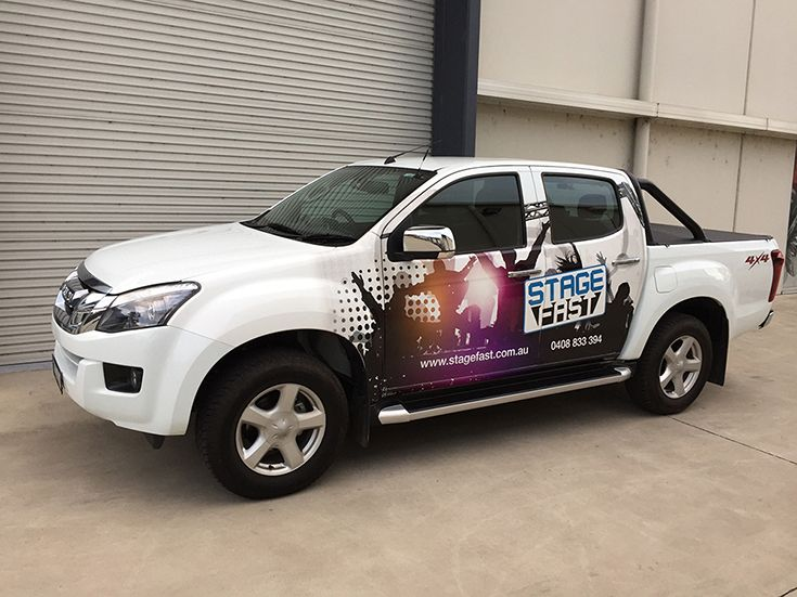 Stage Fast Vehicle Wrap