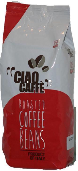 Ciao coffeebeans product of Italy 1 kilo zak