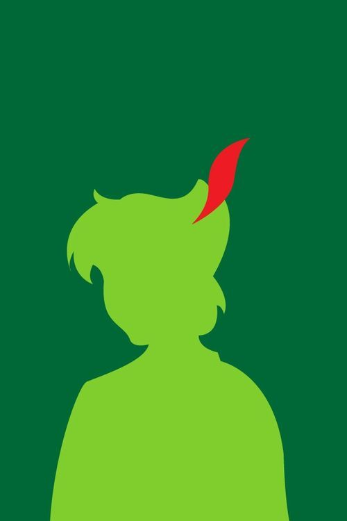 Peter Pan minimalist art