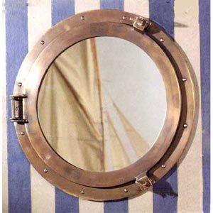 Authentic Models Lounge Porthole Mirror