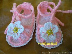 Bellissimi sandali all'uncinetto!!!                    ...