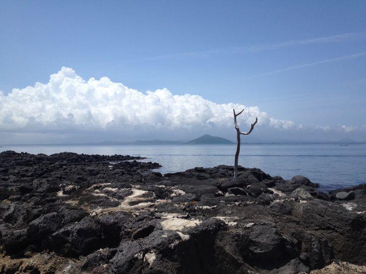 Udo. Near Jeju island