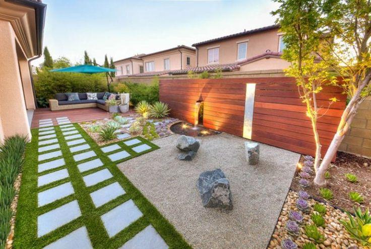 créer un jardin zen : idée de déco d'extérieur