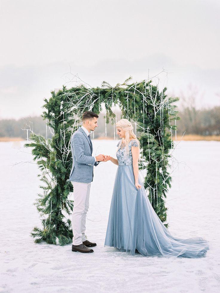 Winter story of Lesya and Pasha