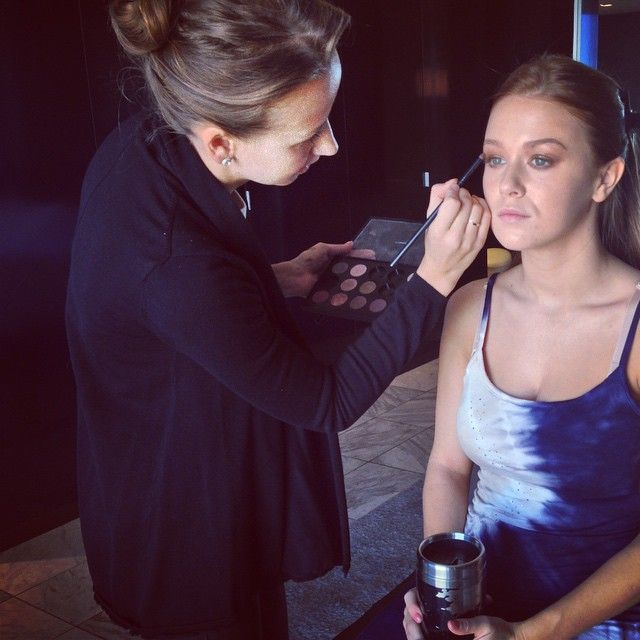 Leanna Decker @leannadecker_ | Websta (Webstagram) leannadecker_ Getting beautified by the sweet @irina_pume