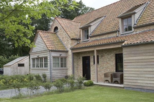gorgeous pale brick and grey wood contemporary country architecture - Realisaties   Mi Casa - Landelijke Stijl   Baetens   Mi Casa