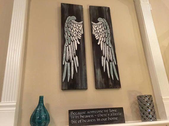Angel Wing Wall Decor Angel Wings Large Angel Wings Angel