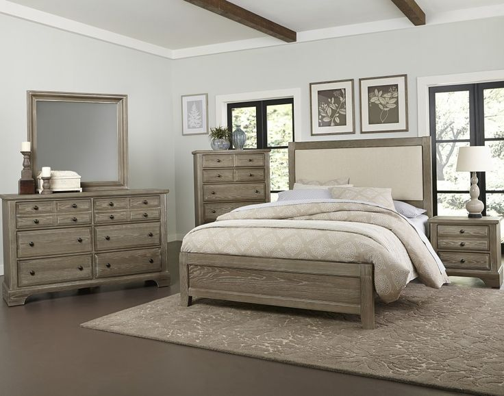 Shop For The Vaughan Bassett Bedford Queen Bedroom Group At Pilgrim  Furniture City   Your Hartford, Bridgeport, Connecticut Furniture U0026  Mattress Store