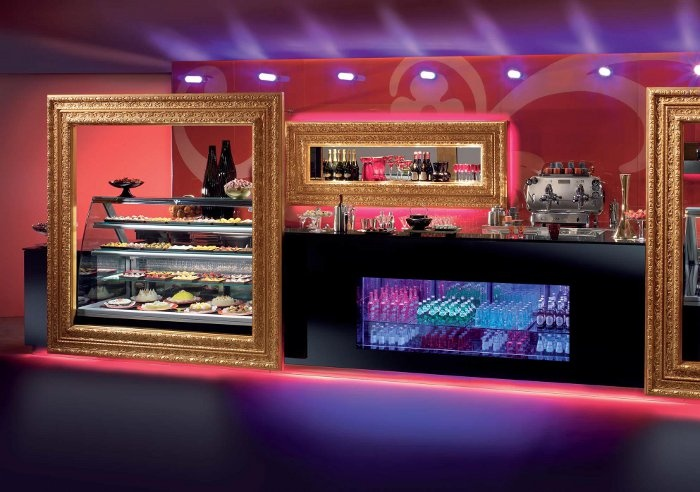 Frame Royal by ISA #arredo #bar #gelaterie #pasticcerie www.isaitaly.com
