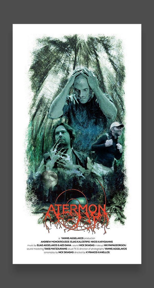 Atermon movie poster by Yannis Aggelakos, via Behance
