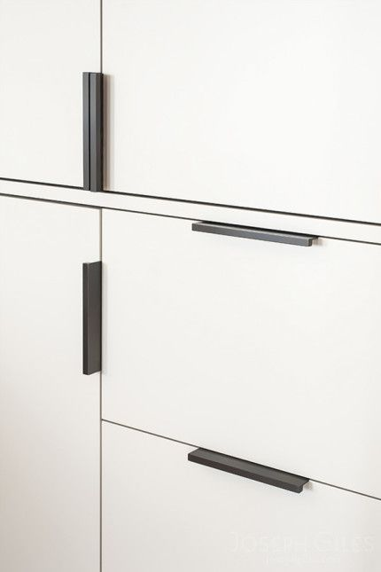 Image result for kitchen craft contemporary edge cabinet pull