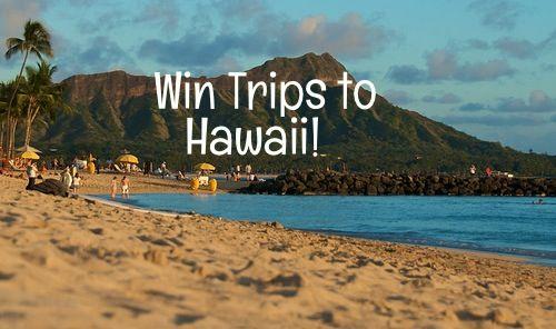 Win free trips to Hawaii!