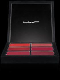 Pro Palette pour les lèvres : 6 teintes rouges